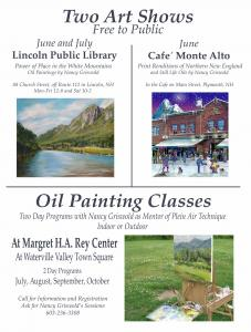 TWO ART SHOWS And CLASSES
